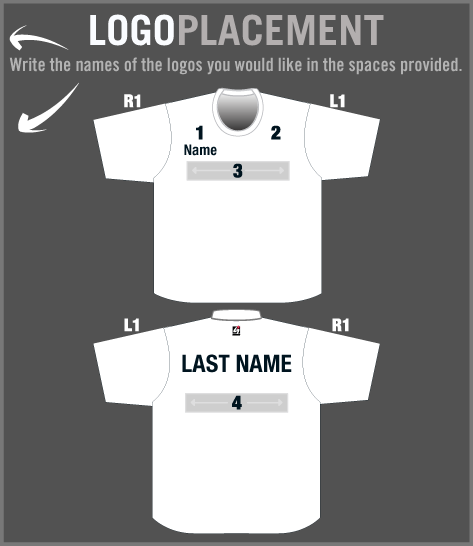 Performance tee g2 gemini the leader in custom apparel for Tee shirt logo placement